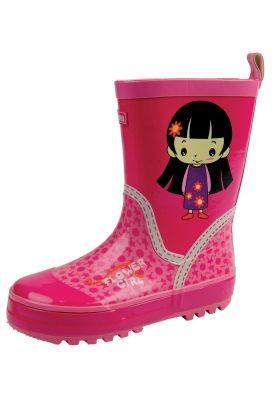 Vrolijke (roze) meisjes regenlaarsjes - maakt niet uit welke