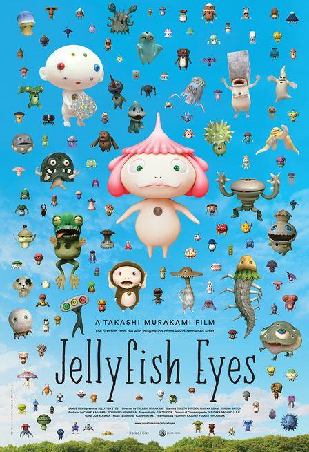 Jellyfish Eyes Poster