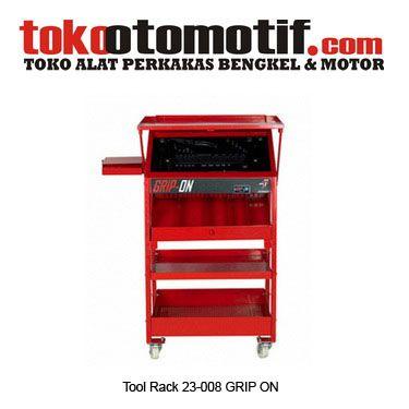Kode : 03001000101 Nama : Tool Rack Merk : GRIP-ON Tipe : 23-008 No. Part Produsen : – Status : Siap Berat Kirim : 8 kg