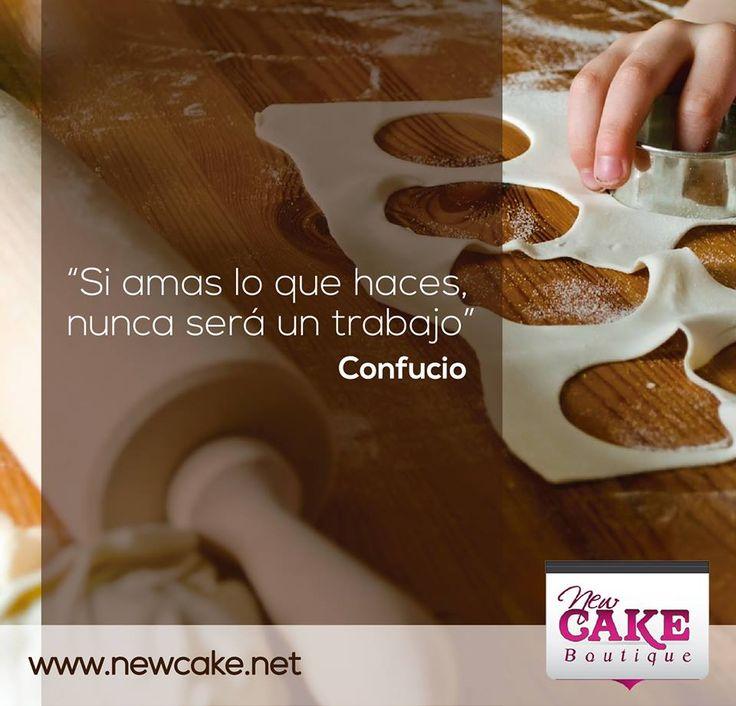 """Si amas lo que haces, nunca será un trabajo"""". Confucio  www.newcake.net #newcakeboutique #weddingcake #cakeart #marcoantoniolopez #cursoscakes"""