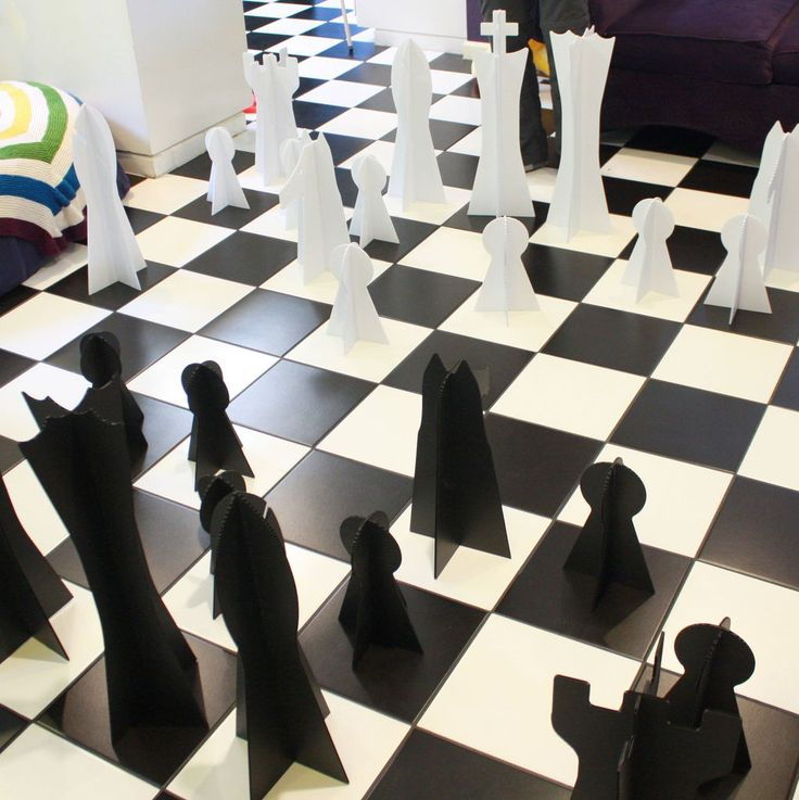 Instructions for making your own chess pieces that are easy to store and don't cost a fortune!