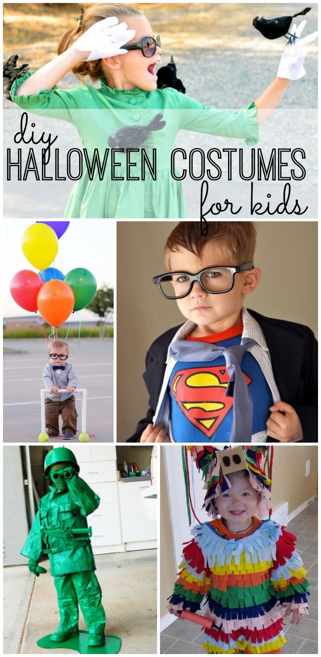 Are you planning to make Halloween costumes for your kids this year? Get inspired by these 23 ideas!