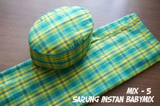 Sarung Instan #babymix 70rb. Order line @starbabyshop/ whatsapp 085733317355