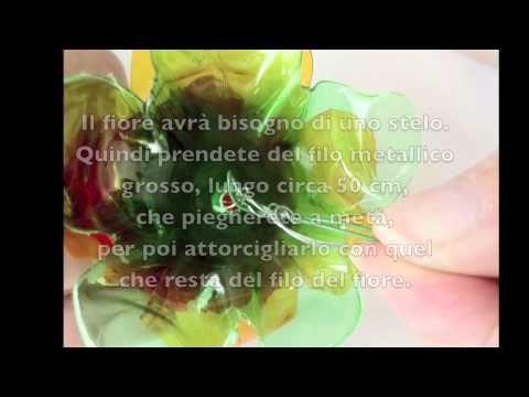 Tutorial_fiori_di_bottiglia_di_plastica - YouTube