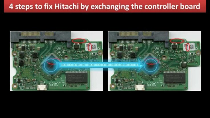 Hitachi hard drive repair fix: HDP725016GLA380  HDP725050GLA360  HPD7250...