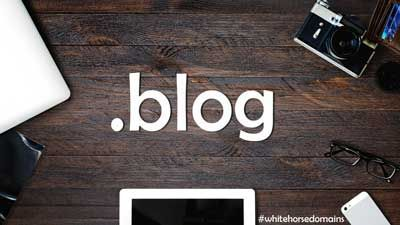 Share your thoughts with a .BLOG domain from White Horse Domains!