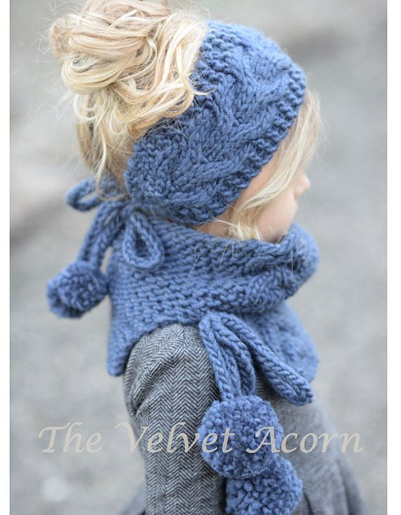 Tricot PATTERN-The Plumage Set bébé enfant par Thevelvetacorn