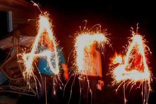 Alpha Gams sparkle & shine! :)