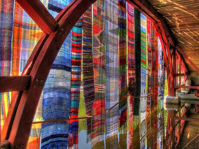 Saori Bridges of Elm Park by brockney52, via Flickr/ great pic, lovely project