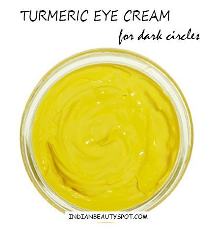 turmeric eye cream for dark circles and fine lines ...