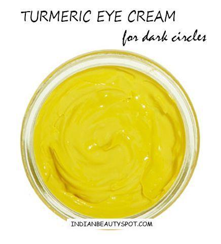 turmeric eye cream for dark circles and fine lines ...
