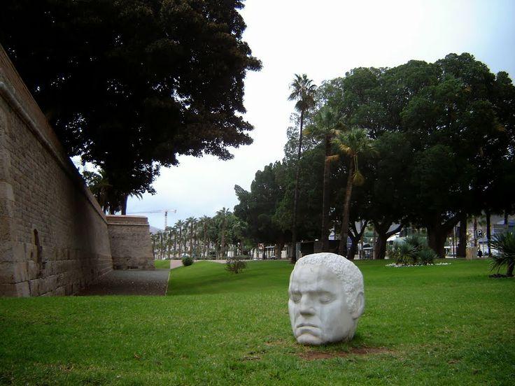 Cartagena - Muralla del Mar  Photo by Robert Bovington  http://bovingtonphotosofspain.blogspot.com.es/
