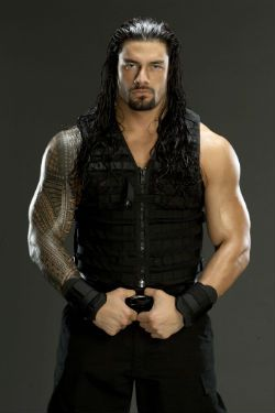 WWE's Roman Reigns...me likey Samoans. Especially when they look like Roman Reigns.