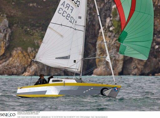 Vu au Grand Prix de l'école Navale par J Vapillon #Like #Nice #Brest | www.ScanVoile.com
