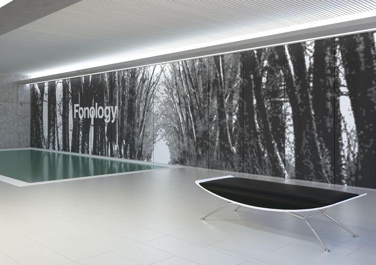 ¿Es posible que una solución acústica decore? Sí, Fonology un panel de metal perforado que permite el diseño de una fotografía o imagenes abstractas. ¡Descúbrelo! . #arte #beautiful #bestoftheday #instagood #interior #interiordesign #product#productdesign #instadesign #style #art #furnituredesign #industrialdesign #arquitecturaporn #archivolers #proyecto #space #builing