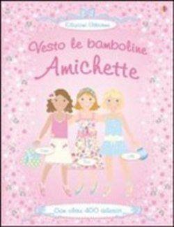 Prezzi e Sconti: #Amichette. con adesivi fiona watt stella  ad Euro 6.37 in #Usborne #Media libri ragazzi 3 5 anni