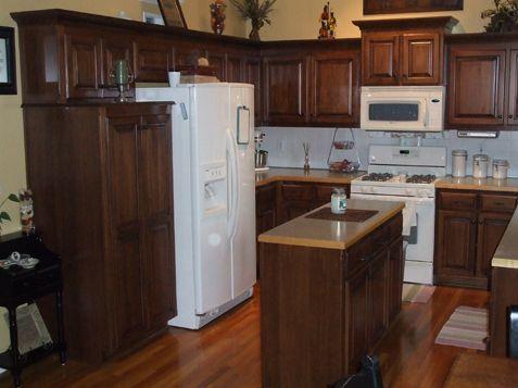Extreme Cabinet Over   KC Wood · Custom Kitchen CabinetsCustom ...