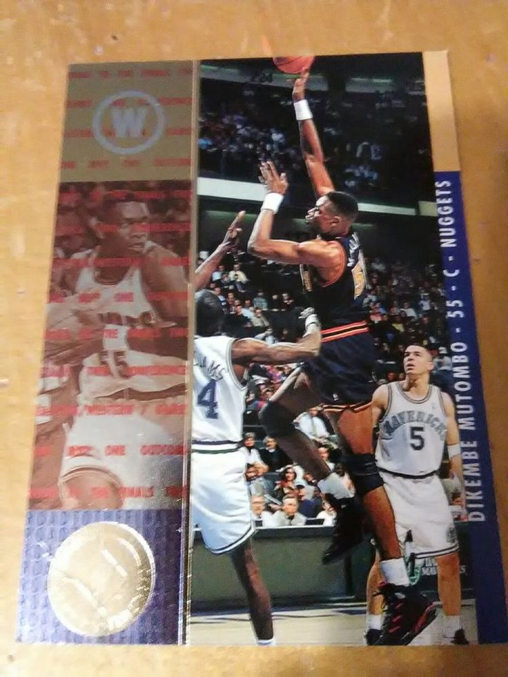 1994/95 SP Championship #7 Dikembe Mutombo: Denver Nuggets #DenverNuggets