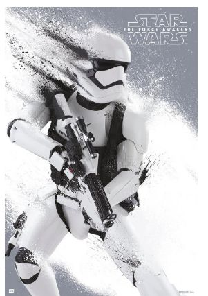 "Star Wars: Episode VII - The Force Awakens - Movie Poster / Print (Stormtrooper) (Size: 24"" x 36"") Get yours here: http://amzn.to/28WnFQf"
