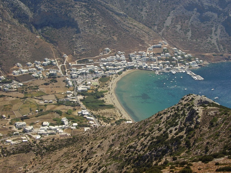 Kamares Port, Sifnos Island, Greece