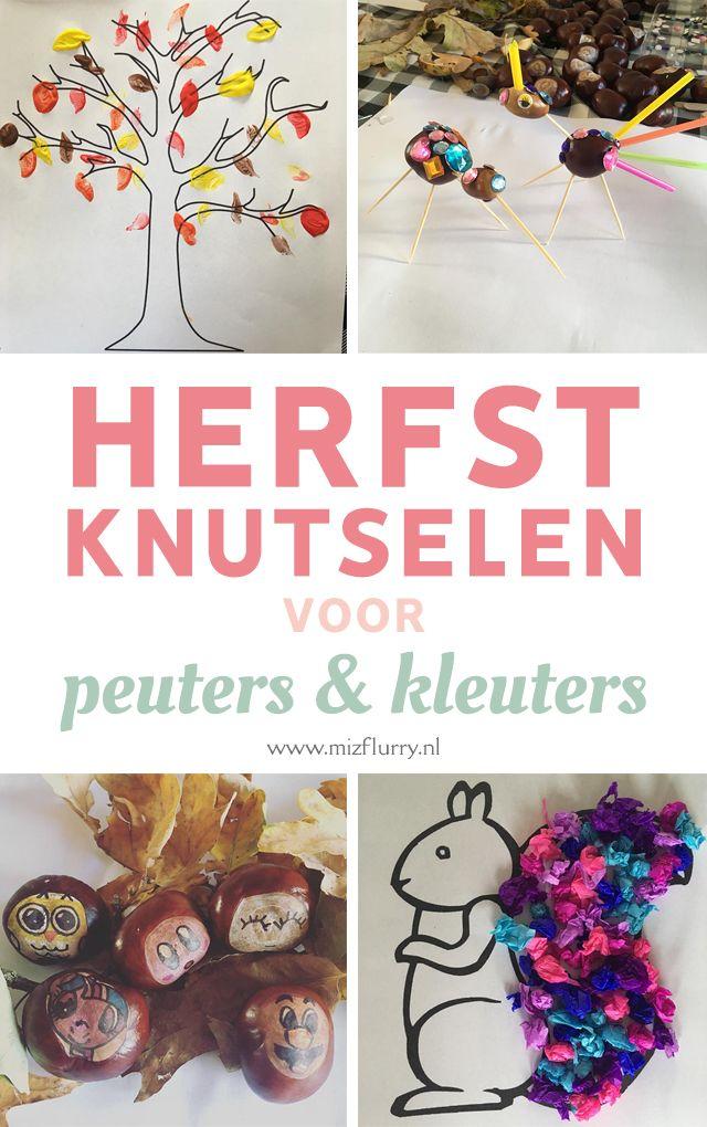 Quatang Gallery- 5x Herfst Knutselen Met Kleuters Herfst Knutselen Herfst Knutselen Kinderen Knutselen Met Peuters