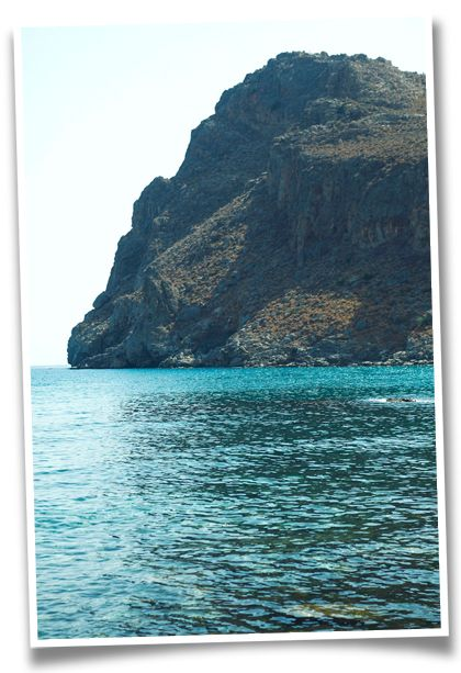Lentas Beach in Southern Heraklion, Crete
