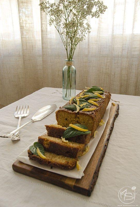 Bizcocho de limón. Gluten free. www.monicasicre.es
