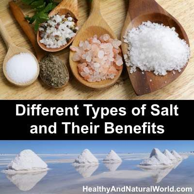Different Types of Salt and Their Benefits