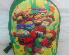 Mochilas personalizadas Tartarugas Ninja