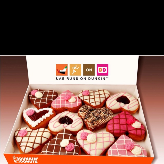 Chocolate Frosted Cake Donut Valentine S Day
