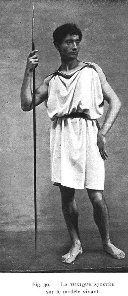 Ancient Greek CHLAMYS- men - Google Search