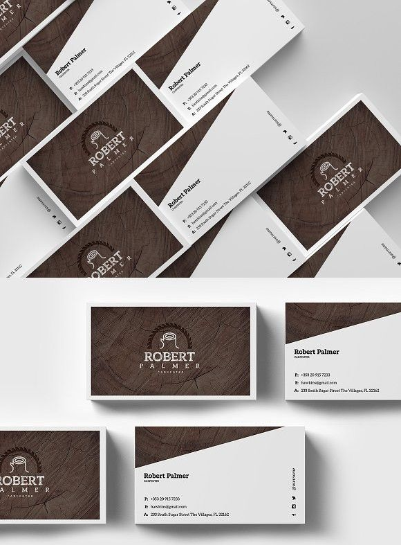 Carpenter Business Card Template Graphic Design Cards Business Card Template Cards