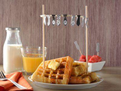 Receta de Cómo planear un desayuno para el día del padre