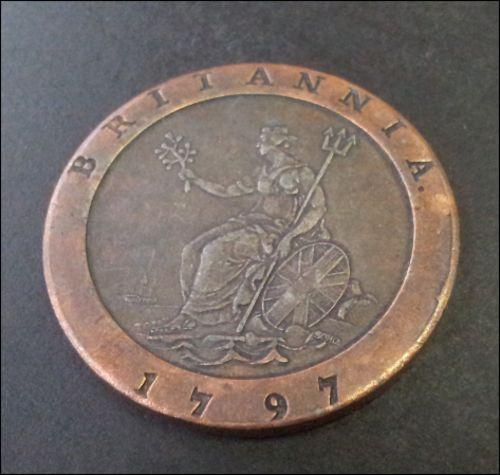 Buy stunning  JAN VAN RIEBEECK - 1797 BRITANNIA COIN REPLICA for R245.00