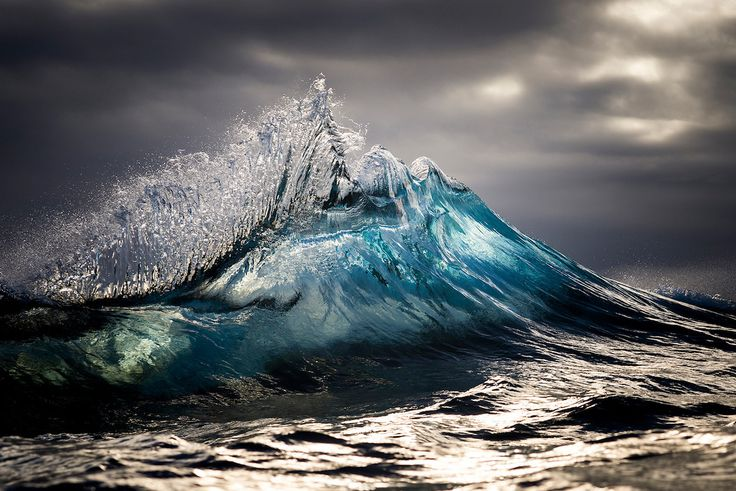 """""""Australian photographer Ray Collins pulls himself out of bed in the early hours, while the darkness still falls heavy outside. By the time the light trickles from behind the horizon, Collins is treading water, his body rolling in the heaving ocean. He holds his camera and waits for the perfect set. He analyzes the turbulent seas in search of the morning's most photogenic peaks and perfect breaks."""""""