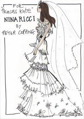 For Princess Kate...: Peter O'Toole, Nina Ricci, Ninaricci, Fashion Design, Kate Middleton, Fashion Illustrations, Peter Cops, Fashion Sketch, Design Sketch