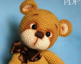 Elfin Thread - Teddy Bear Amigurumi PDF Pattern (Teddy Bear crochet PDF pattern)