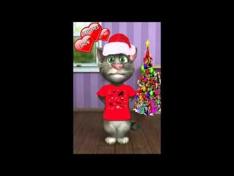 Gato Tom cantando villancicos los peces en el rio canción infantil para niños con letra [HD] - YouTube