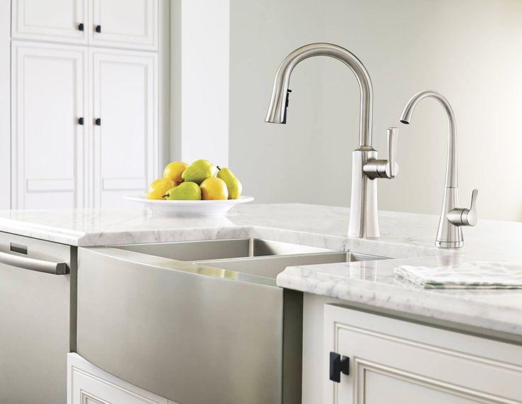 Moen Russo Single Handle Pulldown Kitchen Faucet