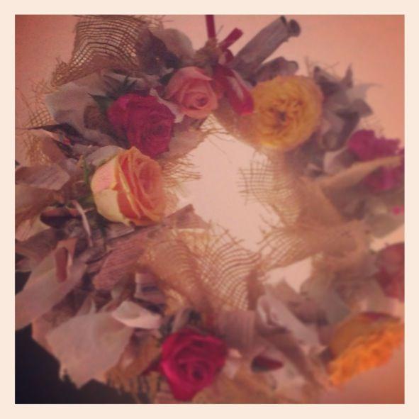 Xmas wreath 2013