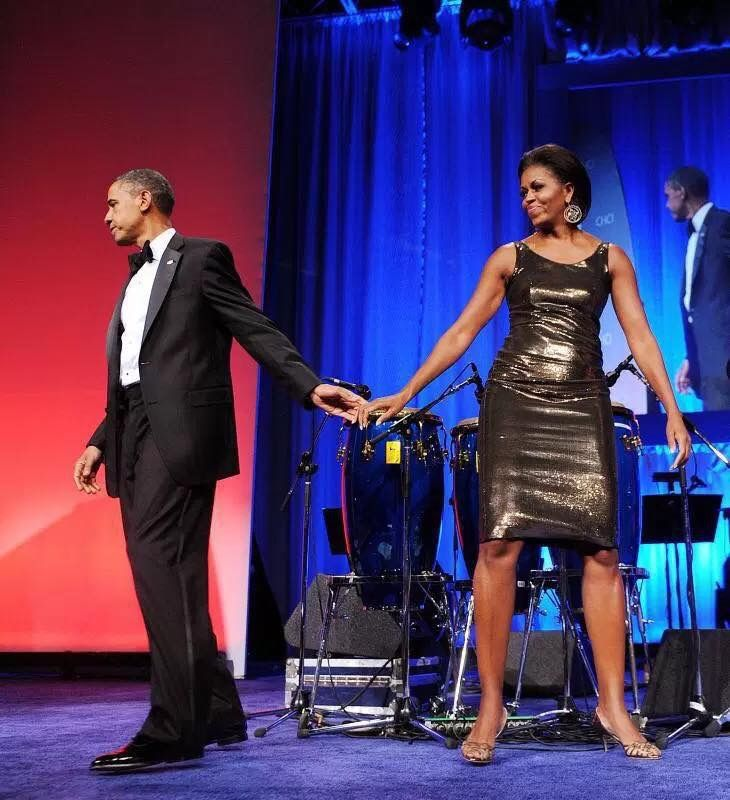 #44thPresident Of The United States Of America Commander In Chief #Barack Obama and #FirstLady Of The United States  Of America #MichelleObama at the Congressional Hispanic Caucus Institute's 32nd Annual Awards Gala dinner in Washington, D.C., on Sept. 16, 2009#ObamaLegacy #ObamaHistory #Obama44 #ObamaFoundation #ObamaLibrary Obama.org