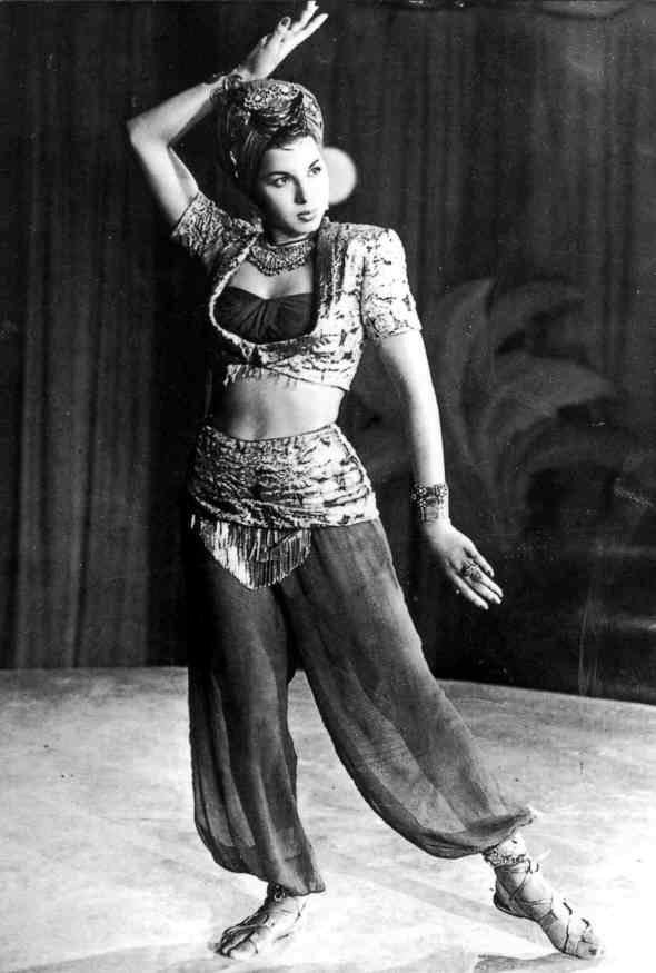 vintag 1940's Samia Gamal one from the top Belly Dancer in Egypt history - Smash It!