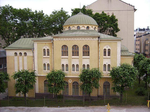 Helsinki's synagogue