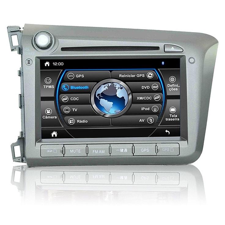 Central Multimídia Honda Civic 2012