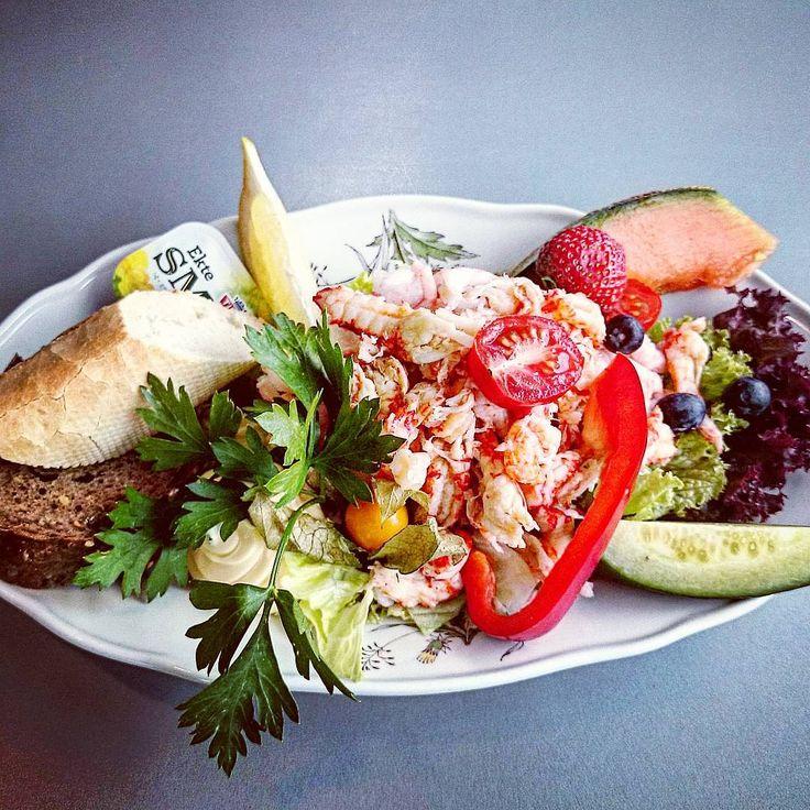 #norwegian #seafood #salad #Ålesund #akslafjellet #restaurant #akslamountain