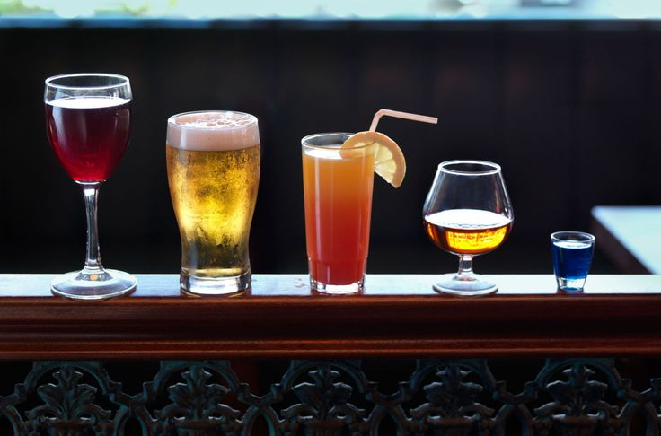 See the calorie information of every alcoholic beverage in one handy chart
