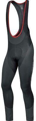 Gore Bike Wear Oxygen Partial Thermo Long Bib Tights - Men's Black XXL