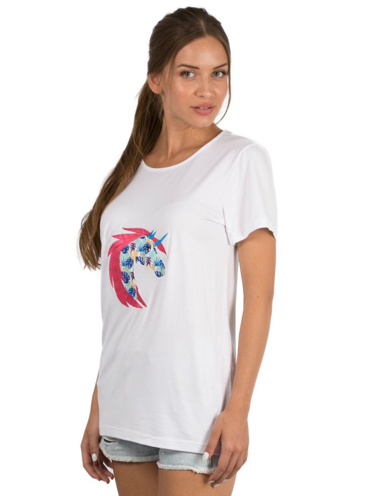 White T-shirt Dreamy Unicorn