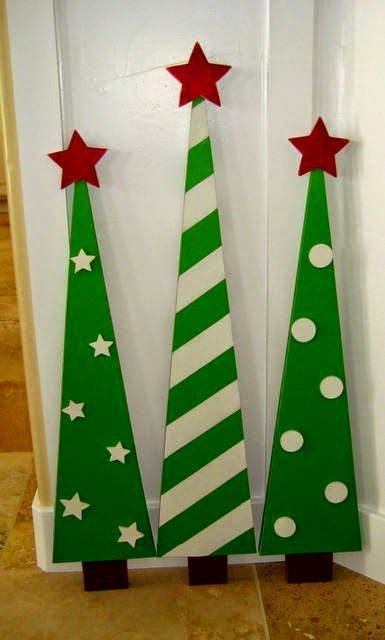Pallet Projects : Pallet Christmas Trees