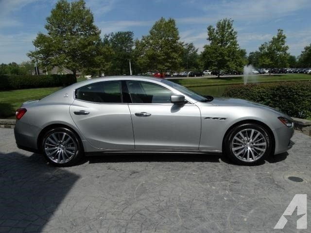 2015 Maserati Ghibli S Q4 Price On Request